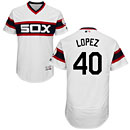 Chicago White Sox Reynaldo Lopez Alternate White Flexbase Authentic Collection Jersey
