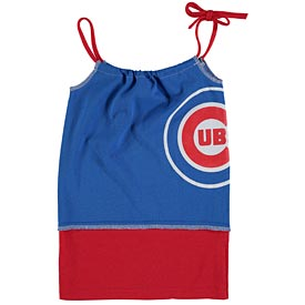 Chicago Cubs Youth Girls Tee-Tank Dress