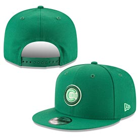 Chicago Cubs League Pop Green 950 Snapback Adjustable Cap
