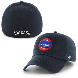 Chicago Cubs 1984 Logo Navy Franchise Fitted Cap