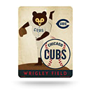 Chicago Cubs Plastic Cooperstown Pitching Bear Sign