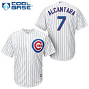 Chicago Cubs Arismendy Alcantara Youth Home Cool Base Replica Jersey