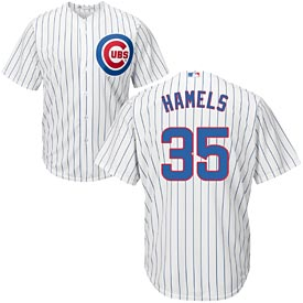 Chicago Cubs Cole Hamels Home Cool Base Replica Jersey