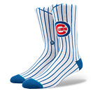 Chicago Cubs Stance Home Pinstripe Socks