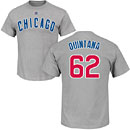 Chicago White Sox Jose Quintana Cooperstown Name and Number T-Shirt