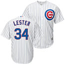 Chicago Cubs Jon Lester Home Cool Base Replica Jersey
