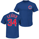 Chicago Cubs Jon Lester Name and Number T-Shirt