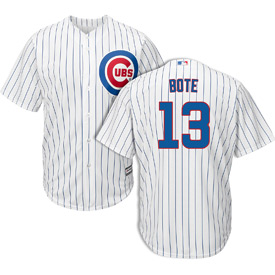Chicago Cubs David Bote Home Replica Jersey
