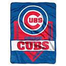 Chicago Cubs Home Plate Oversized Raschel Throw.