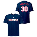 Chicago White Sox David Robertson Cooperstown Name and Number T-Shirt