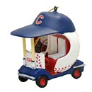 Chicago Cubs Field Car Ornament