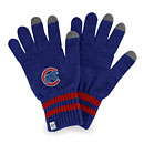 Chicago Cubs Ladies Knit Texting Gloves
