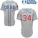 Chicago Cubs Jon Lester Alternate Road Authentic Cool Base Jersey