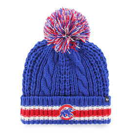 Chicago Cubs Ladies Sorority Cuffed Knit Hat
