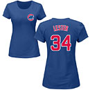 Chicago Cubs Jon Lester Ladies Name and Number T-Shirt