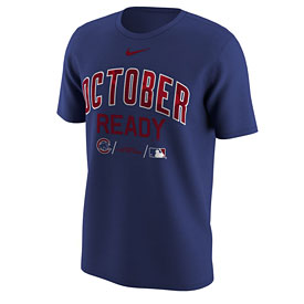 Chicago Cubs October Ready Post Season T-Shirt