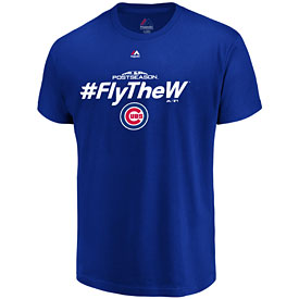 Chicago Cubs 2018 Postseason Authentic Collection Tee