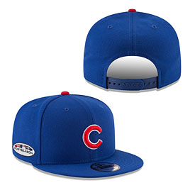 Chicago Cubs 2018 Postseason Side Patch 9Fifty Snap Back