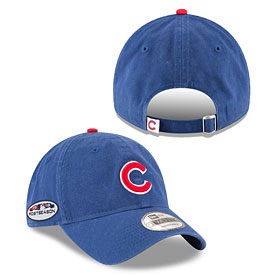 Chicago Cubs 2018 Postseason Side Patch Core Classic Adjustable