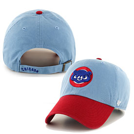 3b222c632c755 good chicago cubs cooperstown 1984 two tone clean up adjustable cap 8ba99  b16ab