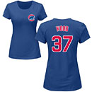 Chicago Cubs Travis Wood Ladies Name and Number T-Shirt