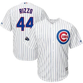 Chicago Cubs Anthony Rizzo 2018 Postseason Cool Base Replica Jersey