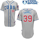 Chicago Cubs Jason Hammel Alternate Road Authentic Cool Base Jersey