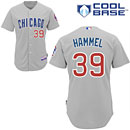 Chicago Cubs Jason Hammel Authentic Road Cool Base Jersey