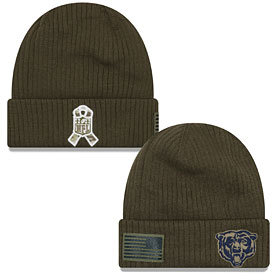 Chicago Bears 2018 Salute to Service Knit Cap