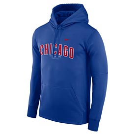 Chicago Cubs Nike Therma Fleece Hooded Sweat Shirt