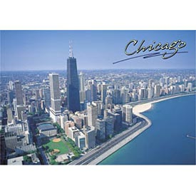 Chicago John Hancok Postcard