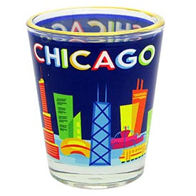 Chicago Gio Shapes Shot Glass