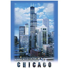 Chicago WIllis Tower Postcard