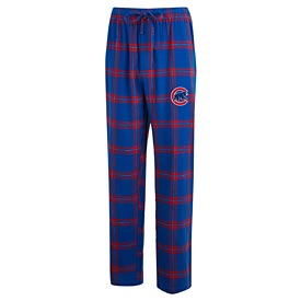 Chicago Cubs Mens Homestretch Flannel Sleep Pants