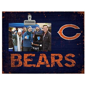 Chicago Bears Clip Picture Frame