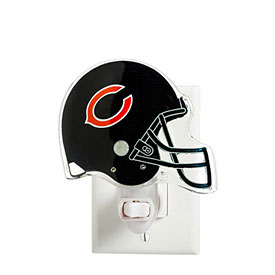 Chicago Bears Helmet Night Light