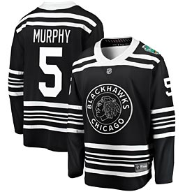 Chicago Blackhawks Connor Murphy 2019 Winter Classic Breakaway Jersey