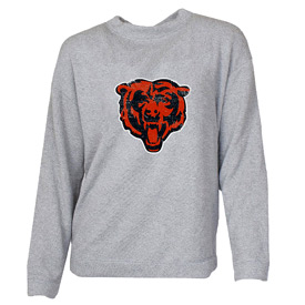 Chicago Bears Women's Bear Head Terry Sweat