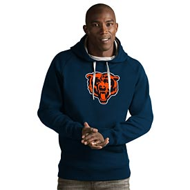 Chicago Bears Full Chest Applique Victory Hood Sweatshirt