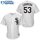 Chicago White Sox Melky Cabrera Youth Home Cool Base Replica Jersey