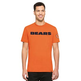 Chicago Bears Orange Fieldhouse Tee